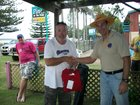 Rookie shirt presentation to Swampman from Flathead